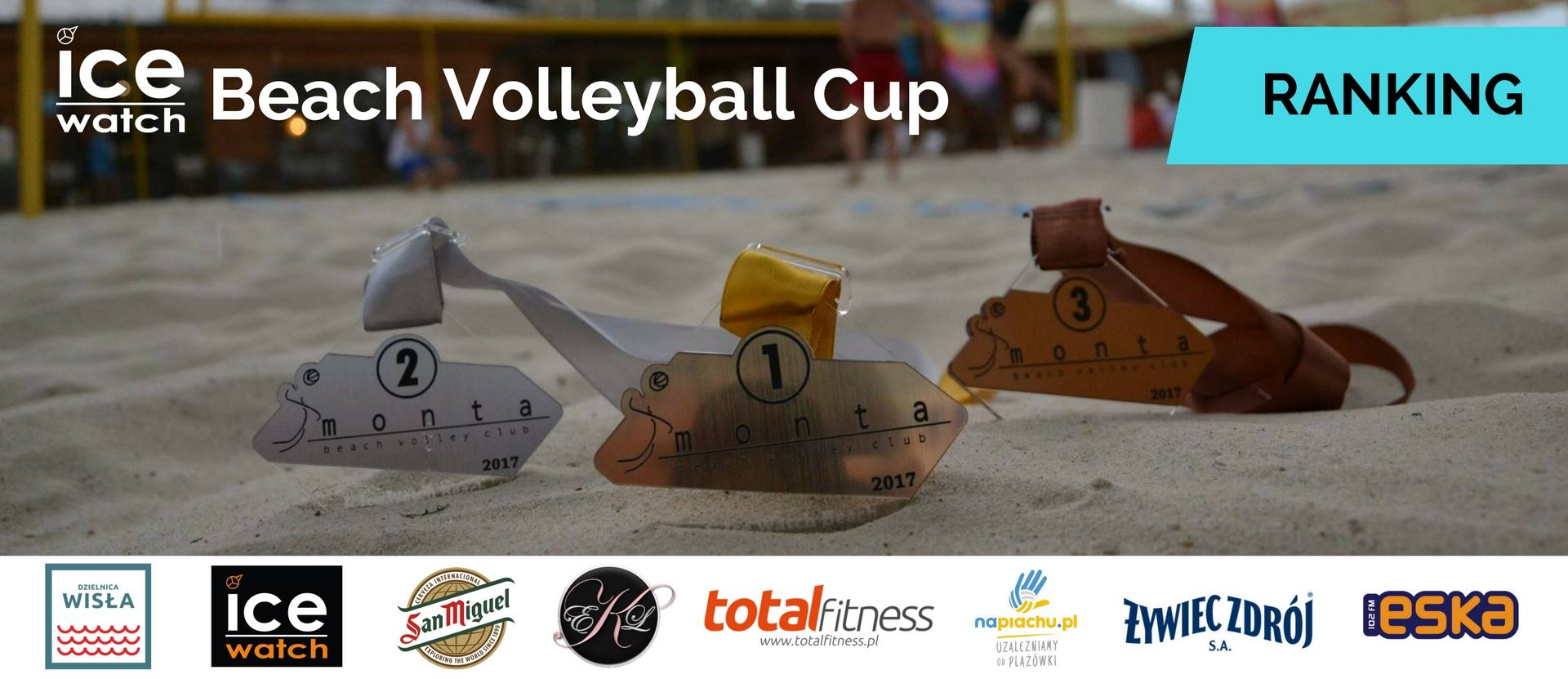 Aktualny ranking Ice-Watch Beach Volleyball Cup
