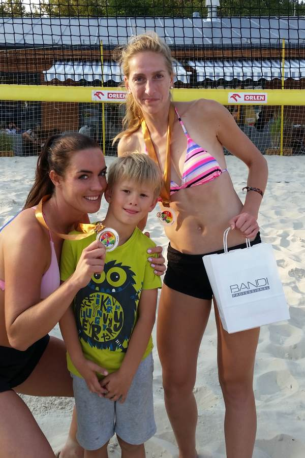 III miejsce ice watch beach volleyball cup monta club panie