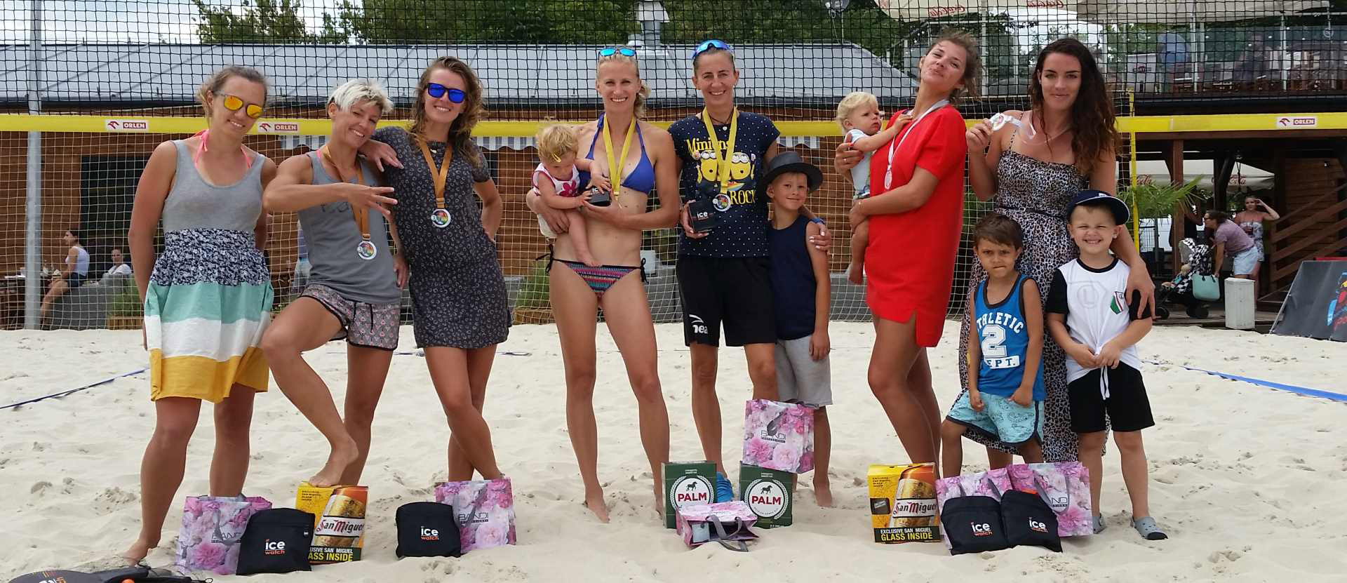 V ice watch beach volleyball cup 2018 kobiety